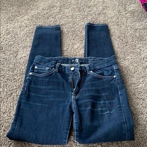 7 For all Mankind High Wasted Jeans
